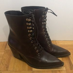 Jeffrey Campbell lace up boots size US9